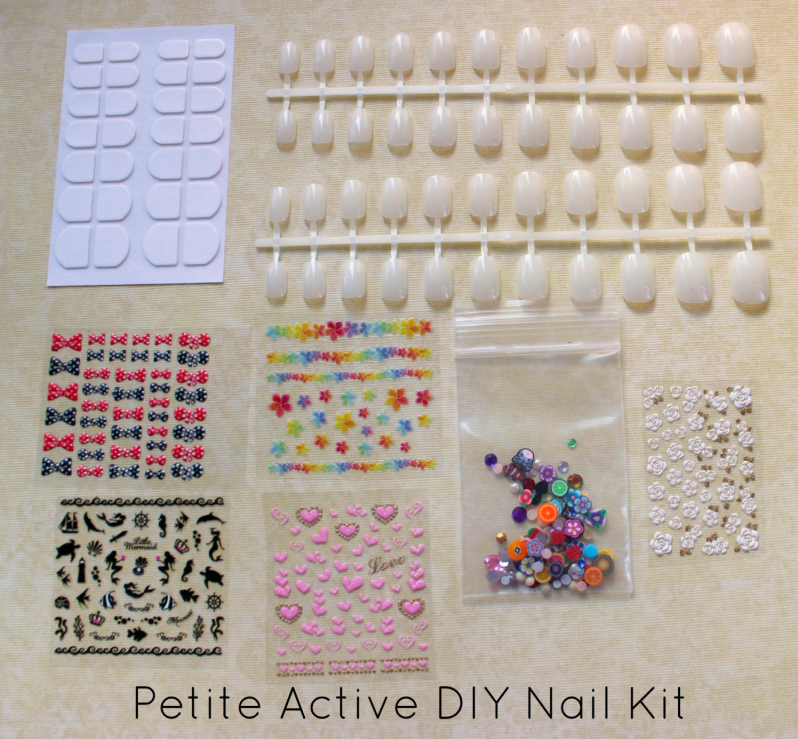 Diy Nail Art Kit Petite Active Length Nails By Nevertoomuchglitter