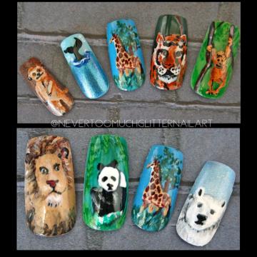 Custom Handpainted Nails