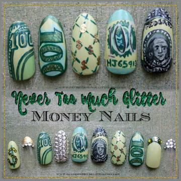 Handpainted $$$ Nails