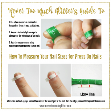 Measuring Your Nails for Perfect Press Ons