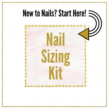 Press On Nail Sample Sizing Set