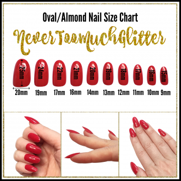 Oval/Almond Nails