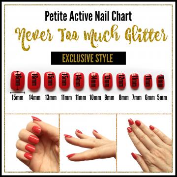 Petite Active Nails- NTMG Exclusive